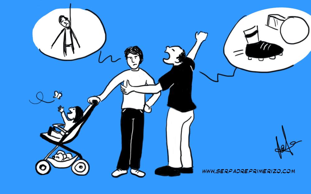 ¿De qué hablamos los padres? (El puto fútbol)