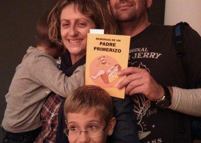Fernando, Eva, Héctor y Hugo