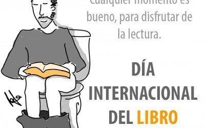 Feliz día del libro!!