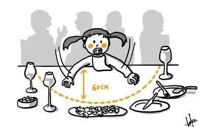 El restaurante ideal para padres primerizos