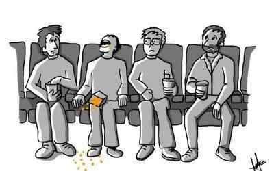 Planes con niños: El cine y salir de cañas