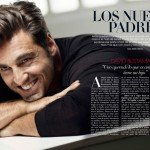 Bustamante como padre en la revista de Ana Rosa Quintana