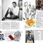 Frank Blanco junto a Rafa Esteve en la revista de Ana Rosa Quintana