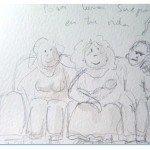 Bocetos de Padre Primerizo