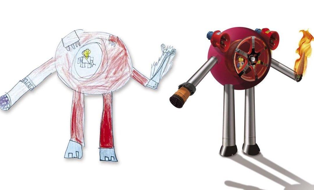 Fabricando Robots con mi hijo