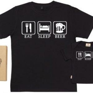 """Camisetas para papás y bebés """"MIS TAREAS"""""""