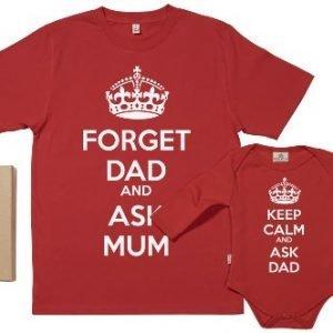 Camiseta y body para padres y bebés