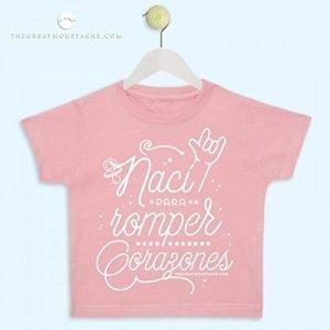 Camiseta bebé para romper corazones