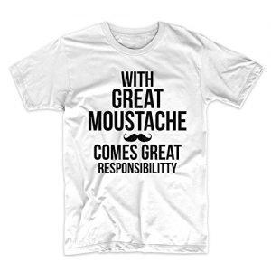Camiseta para padres con bigote