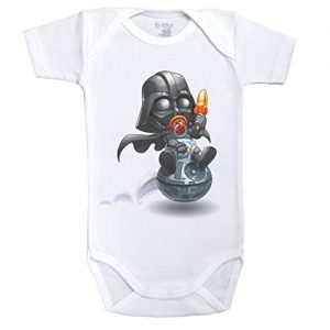 "BODY BEBÉ GEEK ""DARK SIDE"""