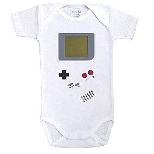 """Body para jugar con tu bebé """"Gameboy"""""""