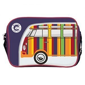 Producto-oficial-de-diseo-de-Volkswagen-furgoneta-bolso-bandolera-azul-marino-0
