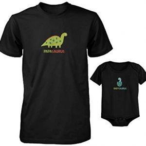 """Camiseta a juego """"Papasaurus y Babysaurus"""""""